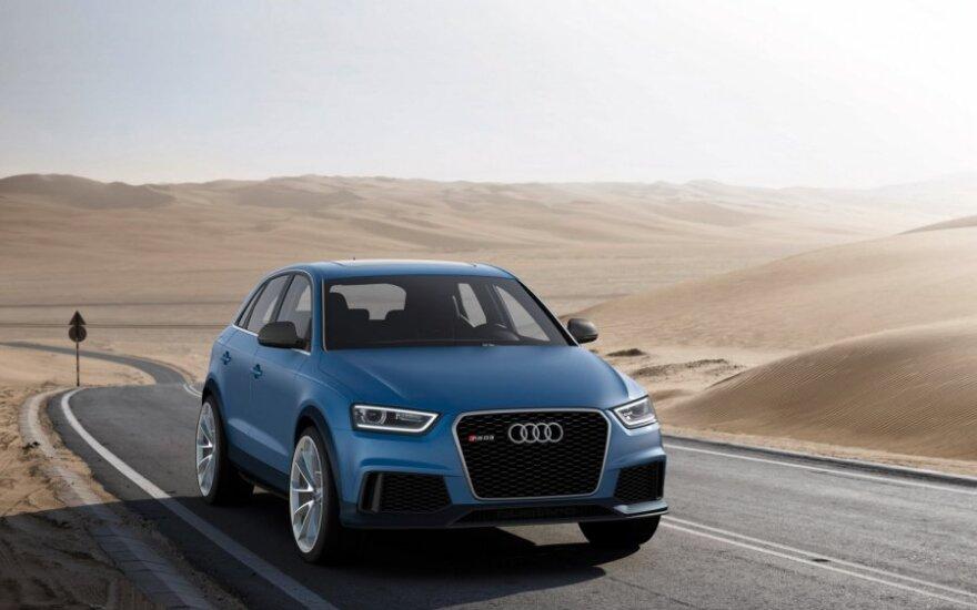 """""""Audi"""" ketina padvigubinti automobilių pardavimus Kinijoje"""