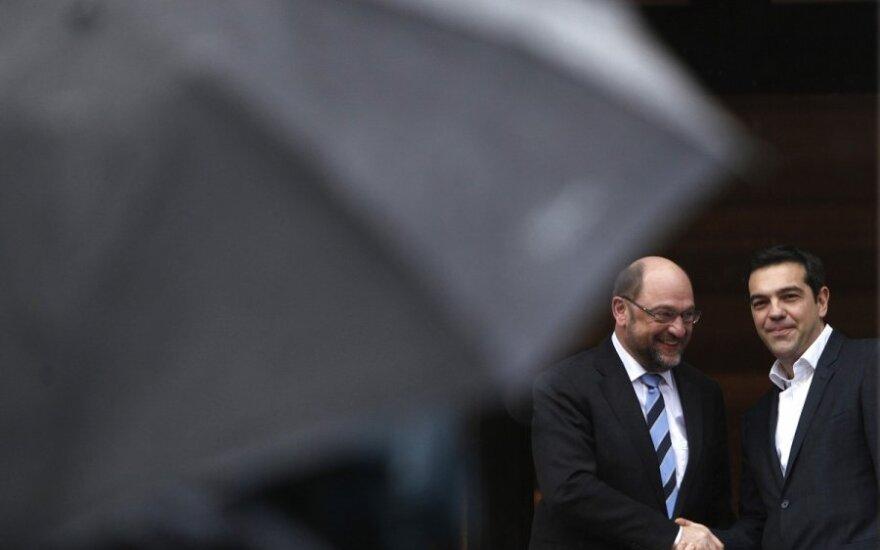 Jei Graikija nepasieks susitarimo su Briuseliu – laukia smūgis iš ECB