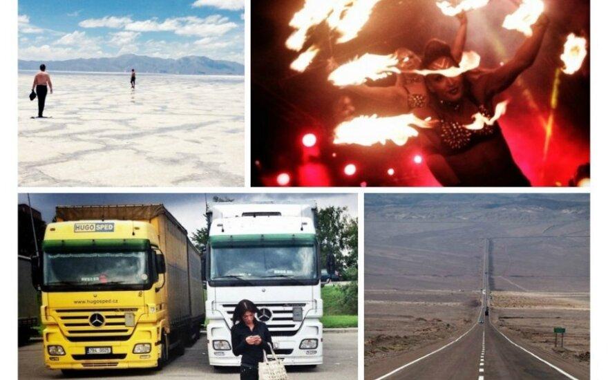 Per vienerius metus – 12 aplankytų valstybių lietuvio akimis