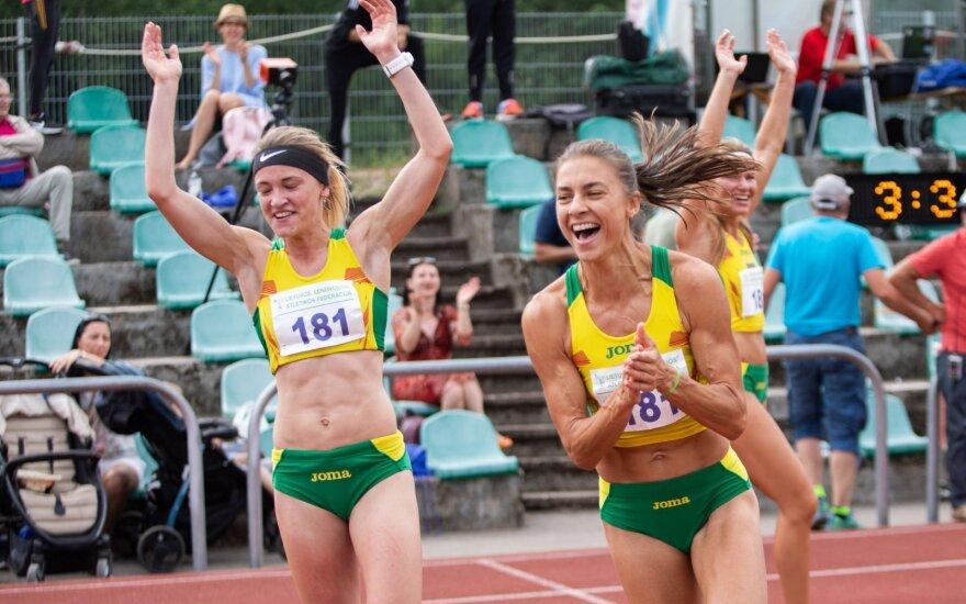 Vilniuje – estafetės komandos triumfo šokis ir dar vienas nesustabdomo Bertašiaus rekordas