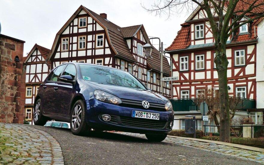 "Šeštosios kartos ""Volkswagen Golf"" nustebino ""AutoBild"" žurnalistus"