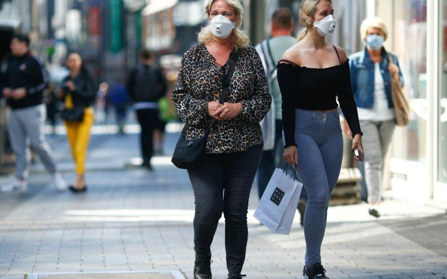 Vokietija dėl viruso nori uždrausti didelius renginius bent iki spalio pabaigos