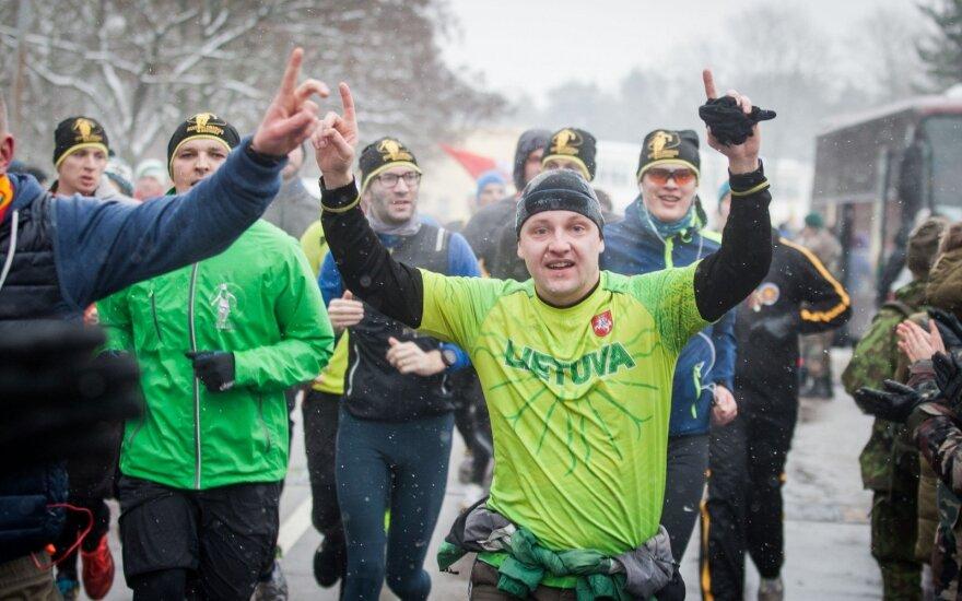 Sausio 13-osios atminimui skirtame pagarbos bėgime kilometrus įveikė rekordinės bėgikų gretos