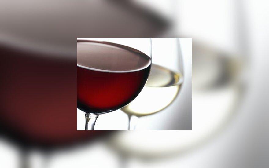 Vynas, taurė, taurės, alkoholis, raudonas vynas