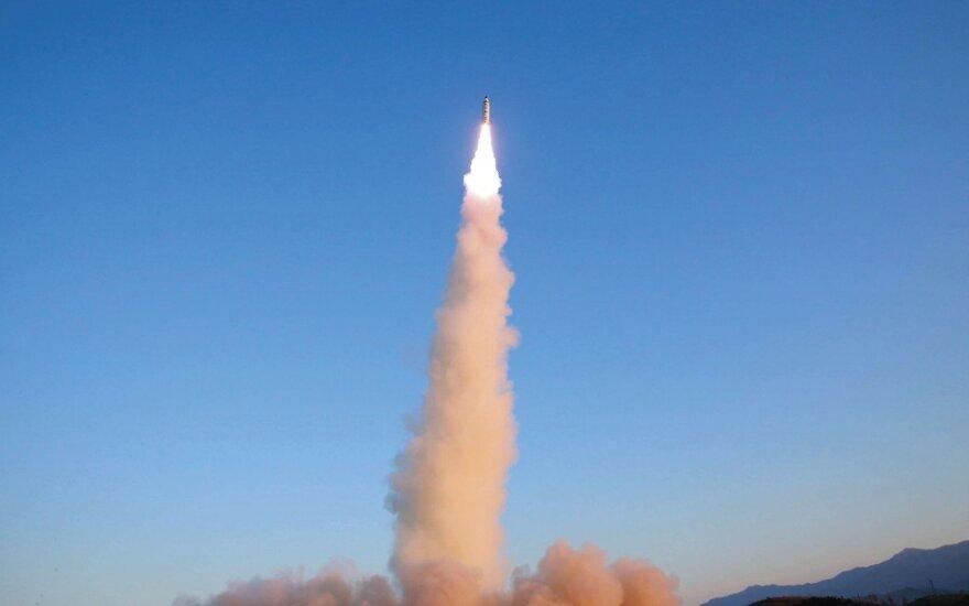 Palydovinės nuotraukos fiksuoja aktyvumą Šiaurės Korėjos branduoliniame poligone