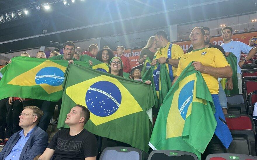 Pasaulio salės futbolo čempionatas, Brazilija - Vietnamas