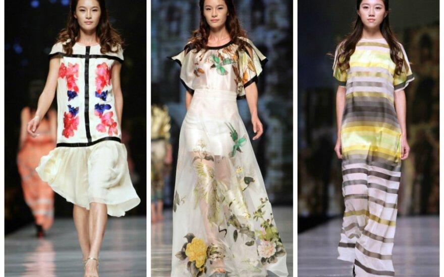 Lietuvių dizainerių kolekcija sužavėjo kinus
