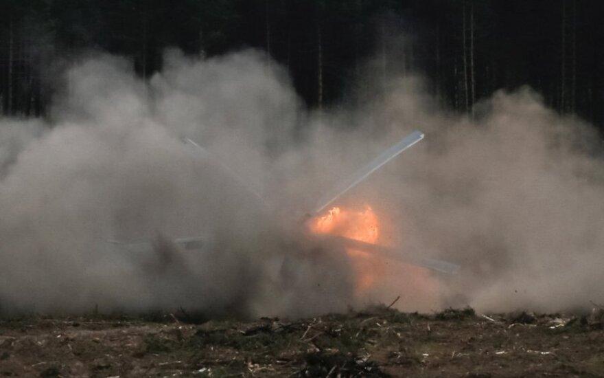 Libijoje sudužo sraigtasparnis