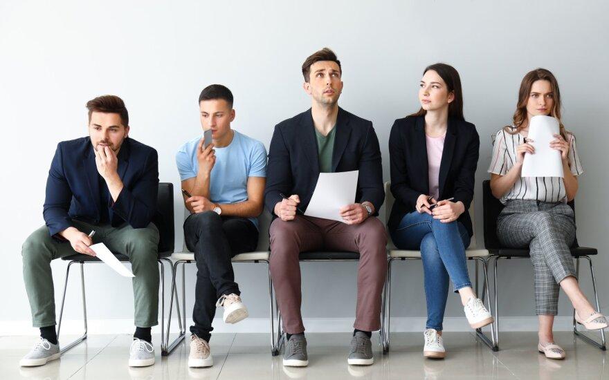Užimtumo tarnyba: birželio 1-ąją buvo registruota 39 tūkst. darbo neturinčių jaunuolių