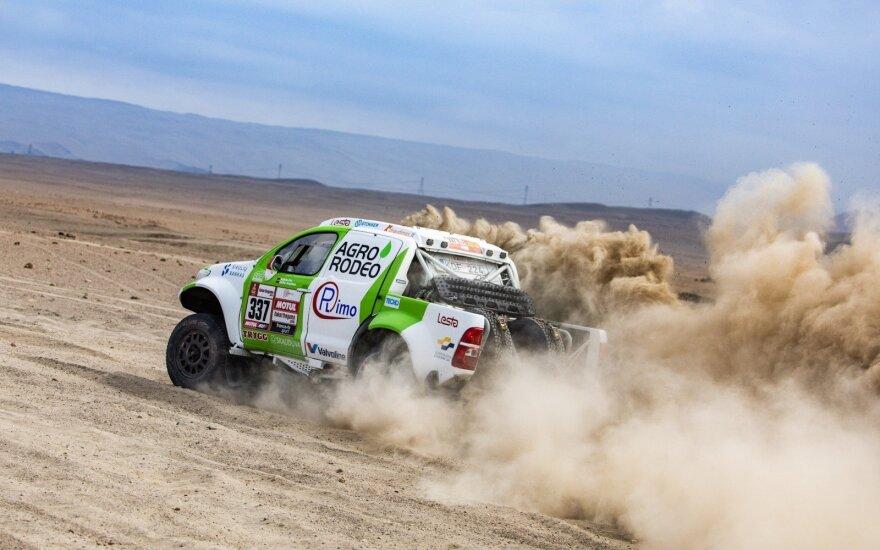 """""""Agrorodeo"""" komanda 2019-ųjų Dakare"""