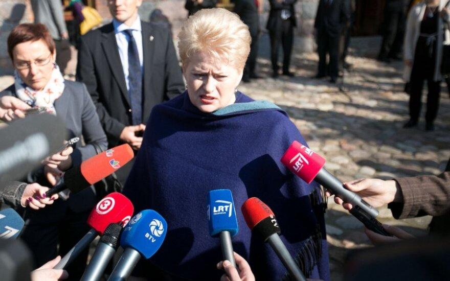 V.Laučius. Ar prezidentė D. Grybauskaitė savęs nemėgsta?