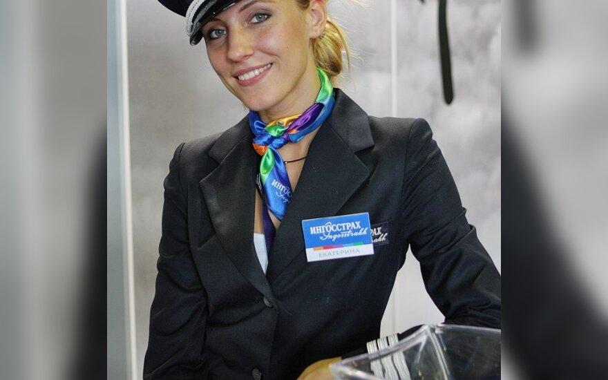 Tarptautinio aviakosminio salono (MAKS 2009) merginos