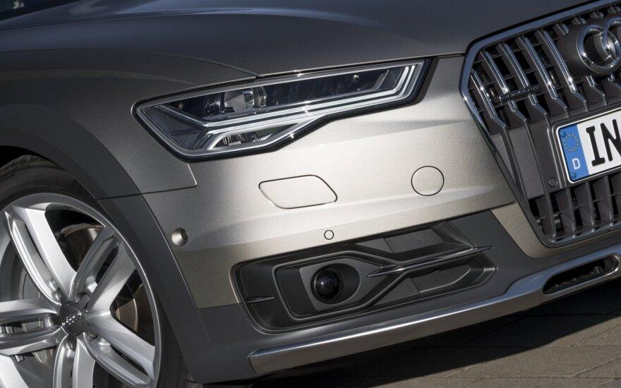 """Volkswagen"" skandalas gramzdina ""Audi"" ir ""Porsche"""