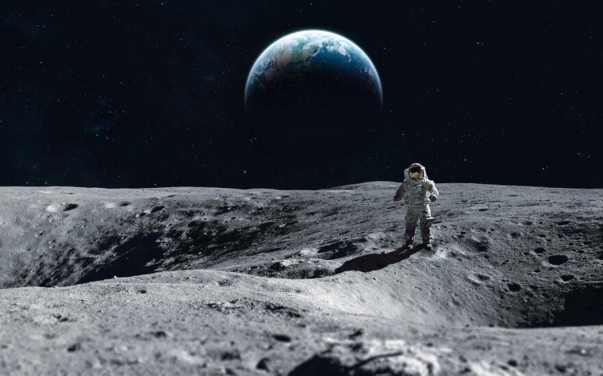Žmonės į Mėnulį planuoja sugrįžti 2024-aisiais