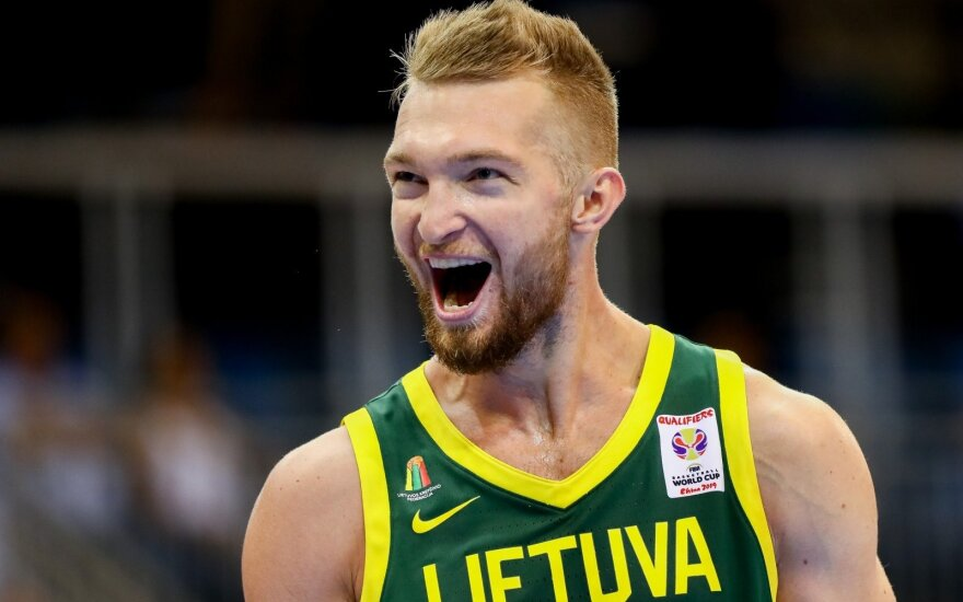 Geriausių krepšininkų rinkimų lyderis – Domantas Sabonis