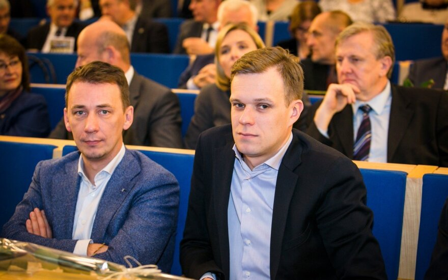 Vytautas Kernagis, Gabrielius Lansbergis