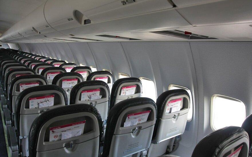 Kur lėktuve daugiausia mikrobų?