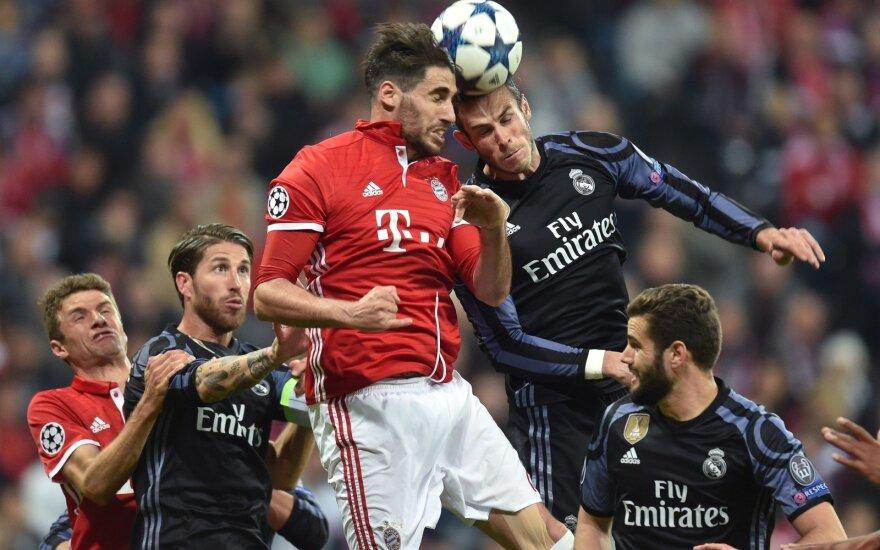 """Čempionų lygos rungtynės: """"Bayern"""" – """"Real"""""""