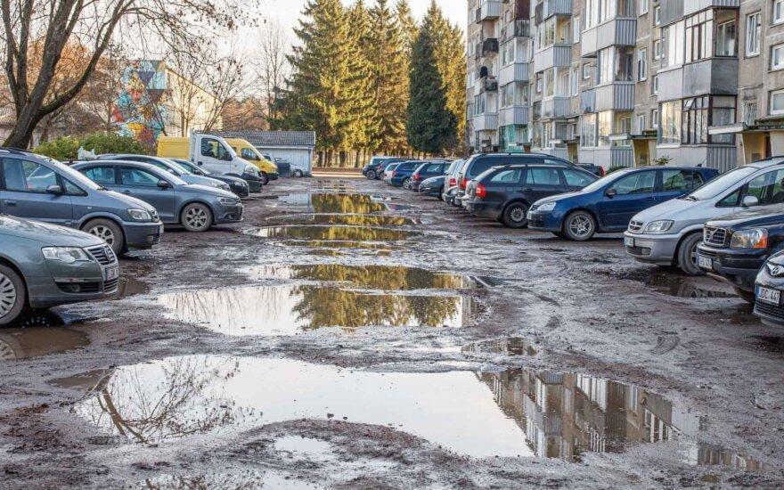 Bene baisiausią kiemą mieste turinčio namo administratorius: gyventojai pakeitimų atsisakė patys
