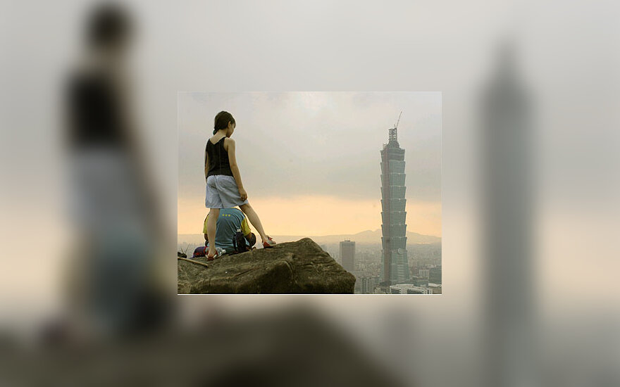 Aukščiausias pasaulyje pastatas - dangoraižis Taivane