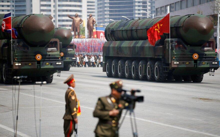 Šiaurės Korėjos tarpžemyninė balistinė raketa