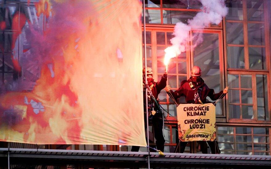 Greenpeace aktyvistai