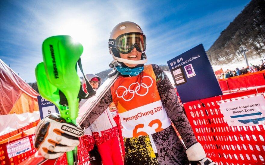 Pjongčango olimpiada: slalomas – Ieva Januškevičiūtė