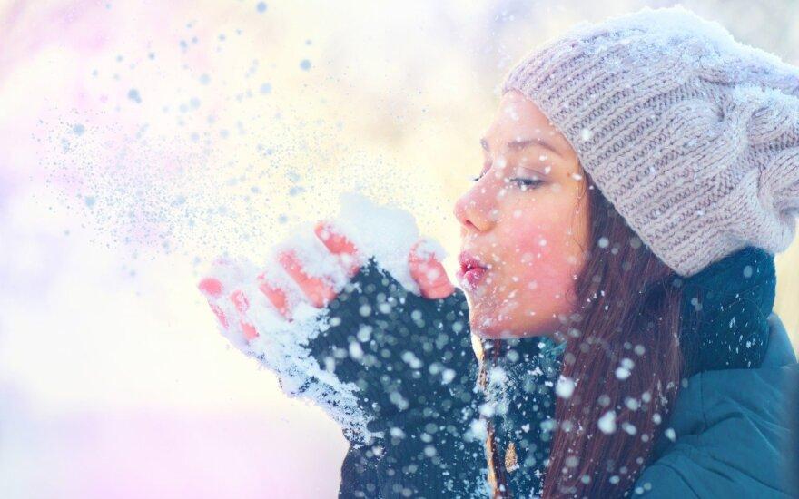Orai: švelni, maloni žiema