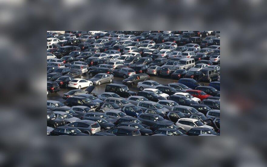 Lapkritį Lenkijoje parduota 34 tūkst. naujų automobilių