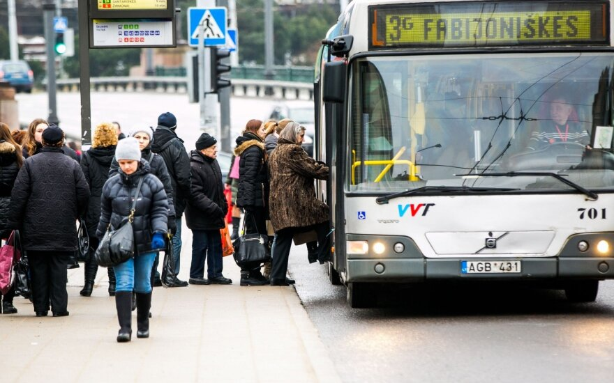 Public transport in Vilnius