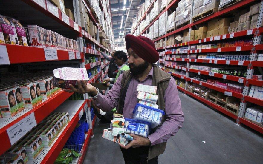 Prekybos centrai Indijoje
