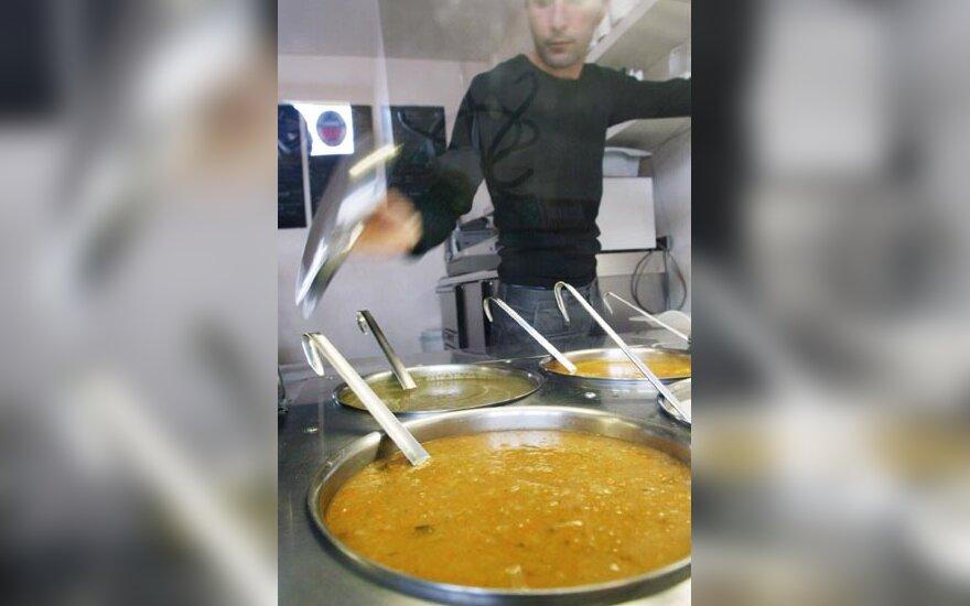 Maistas, restorano virtuvė