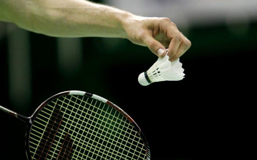 Permainingos lietuvių kovos Europos jaunių badmintono čempionate