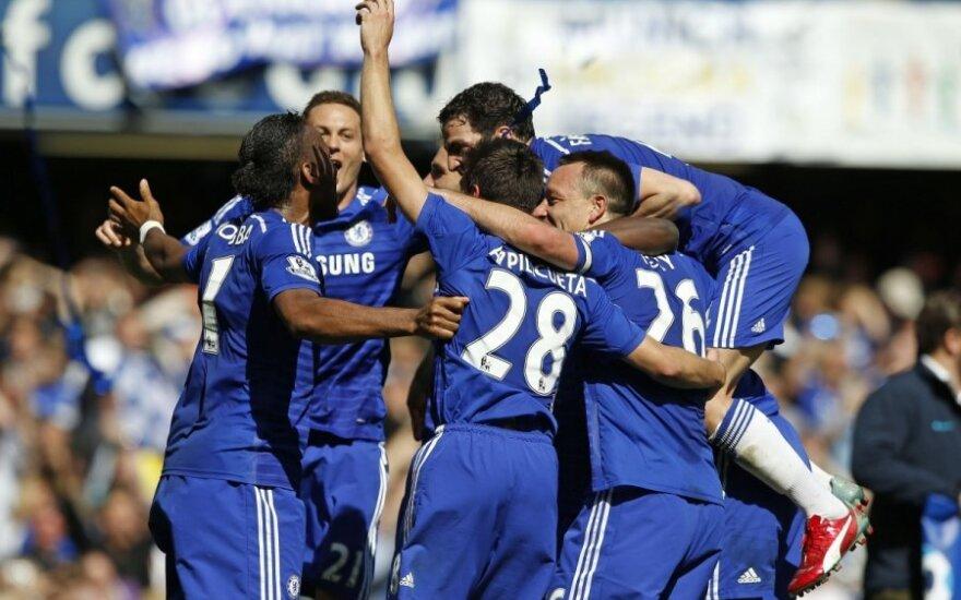 """Londono """"Chelsea"""" klubas – naujas Anglijos čempionas"""