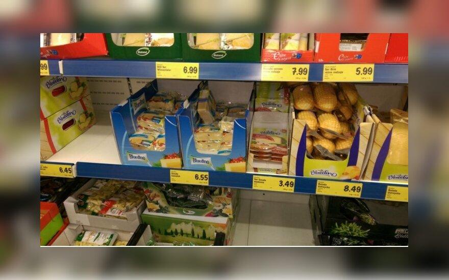 Prieš šventes lietuviai šluoja Lenkijos parduotuves: džiaugiasi kainomis