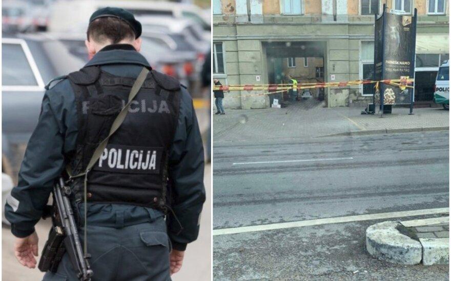 Kraupus radinys Klaipėdos centre: paryčiais aptiktas nudurto vyro kūnas