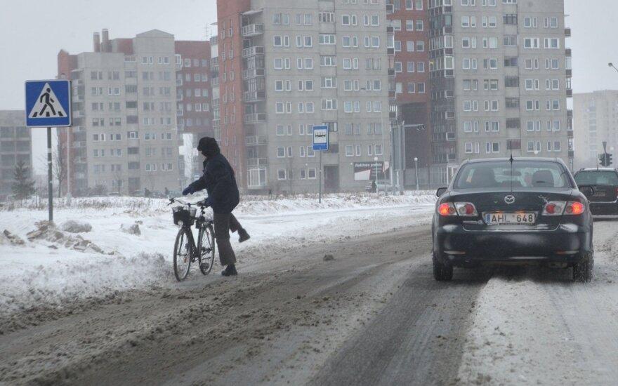 Orai: po savaitgalio permainų atkeliaus sniegas