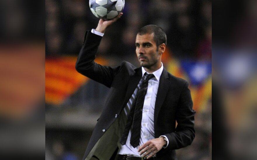 """Barcelonos"" klubo prezidentas neskubina trenerio pratęsti kontraktą"