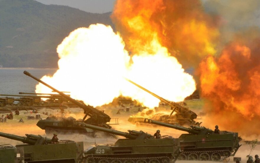 Šiaurės Korėjos artilerija