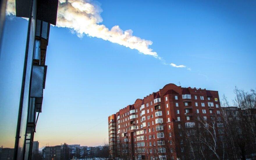 Nustatyta Čeliabinsko meteoro kilmė