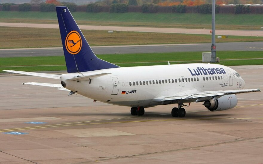 """""""Lufthansa"""" darbuotojai ruošiasi dar vienam streikui"""