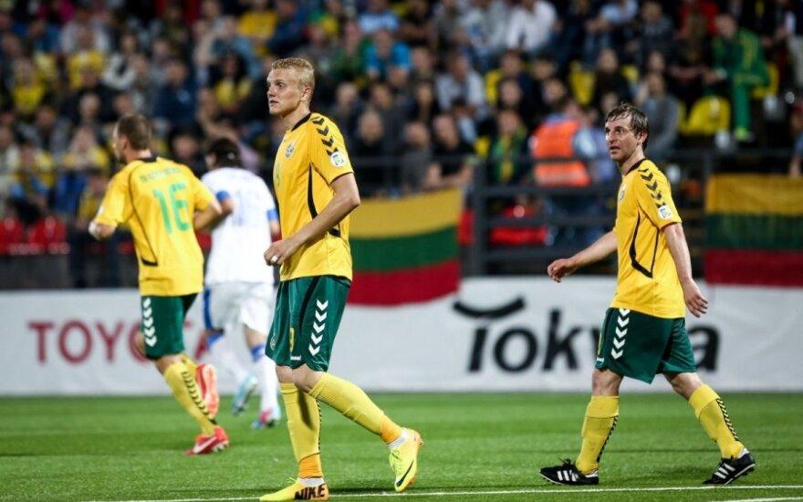 Lietuvos rinktinė FIFA reitinge aplenkė Gruziją, bet praleido į priekį Zimbabvę