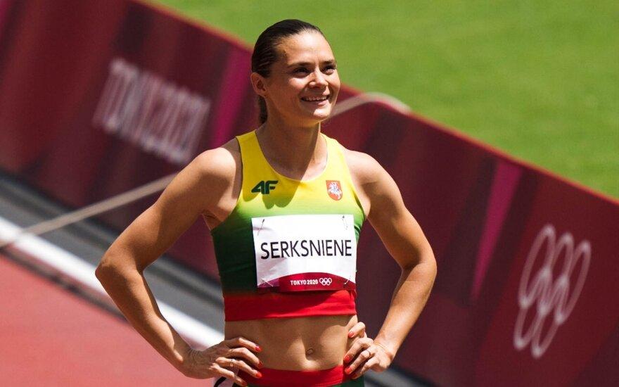 Agnė Šerkšnienė Tokijo olimpinių žaidynių 400 m bėgimo atrankoje