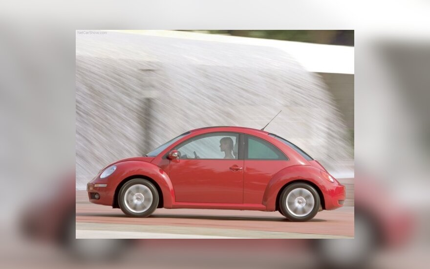 "Naujasis ""Volkswagen Beetle"" konkuruos su ""Mini"""