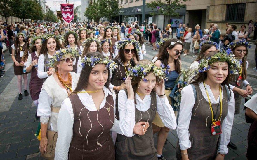 People in Vilnius