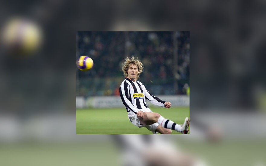 """Pavelas Nedvedas (""""Juventus"""")"""