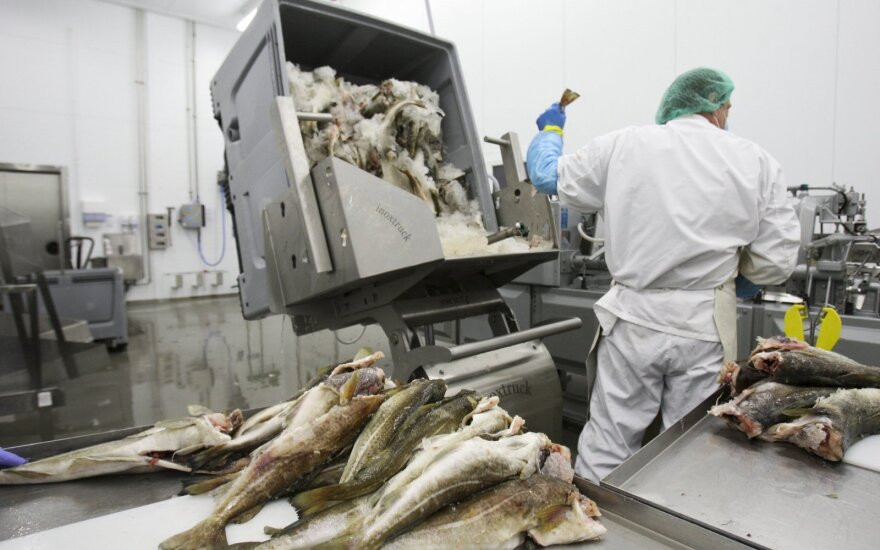 Russia's import ban on Lithuanian fish will not inflict 'significant damage'