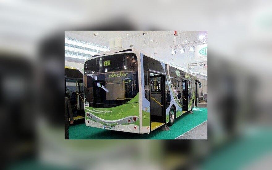 Į Lietuvos gatves išriedės šimtas naujų ekologiškų autobusų