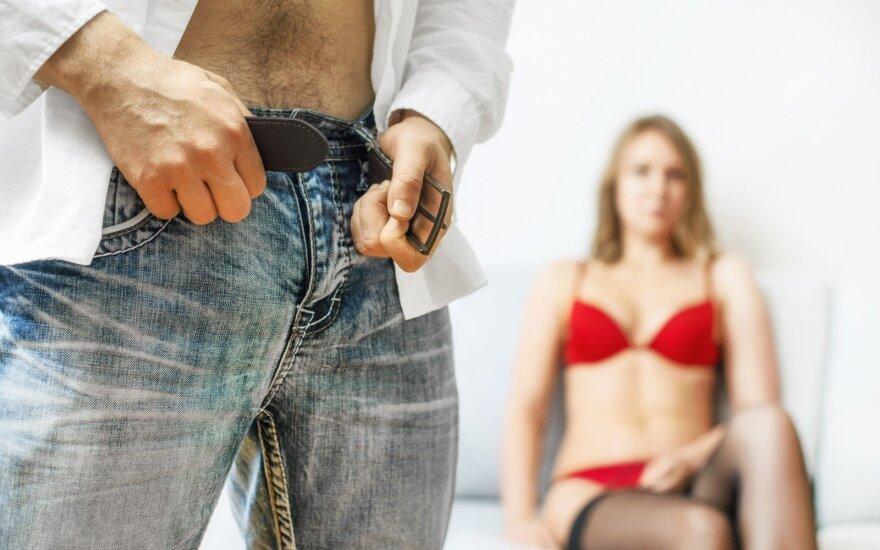 Porų santykiai, kai trūksta sekso