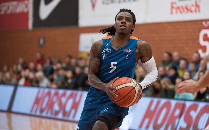 Jalen Riley - Palangos krepšinio klubo žaidėjas.